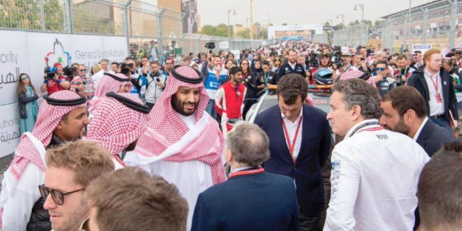 Crown Prince Muhammad Bin Salman sees Diriyah create history