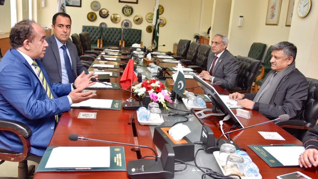 Pakistan, Tunisia talks to proceed ahead for finalizing PTA
