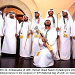 Cultural performances; traditional cuisines add color to UAE national day