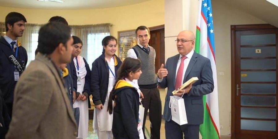 Pakistani students briefed about Uzbek culture, history