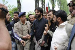 Indian police arrest Yasin Malik, other Hurriyat leaders in Srinagar