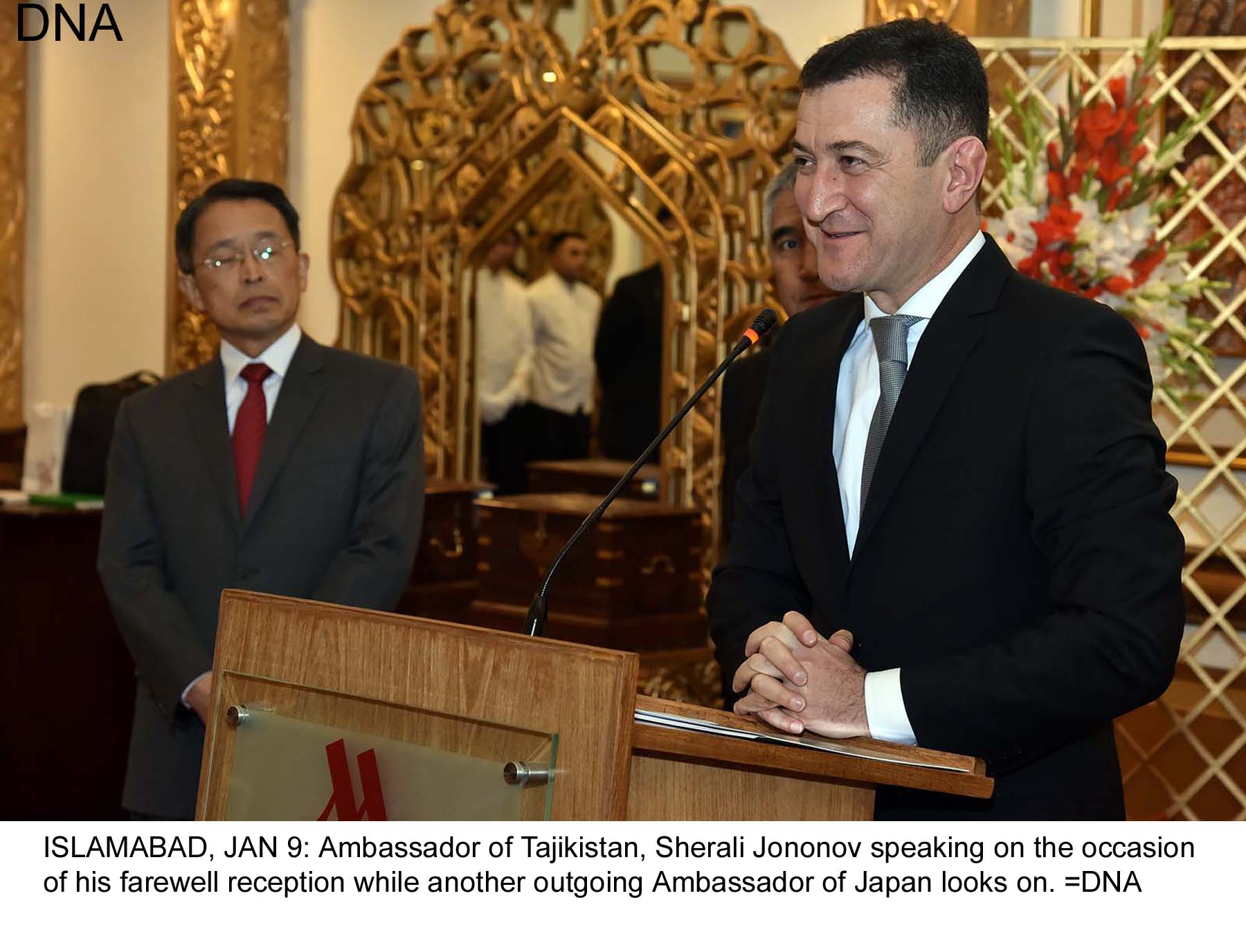 Ambassador of Japan, Tajikistan bid farewell to friends