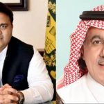 Info Minister Fawad Chaudhry phone his Saudi counterpart Turki Alshabanah