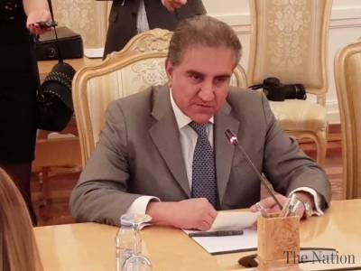 FM Qureshi takes up Afghan issue with Turkish counterpart
