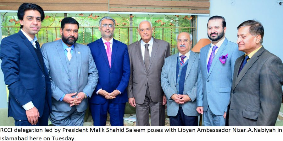 African markets untapped destination for Pakistan's exports: RCCI