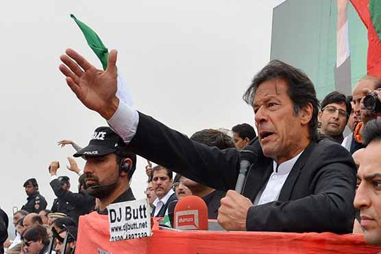 Democracy isn't in danger but big dacoits are: PM Imran