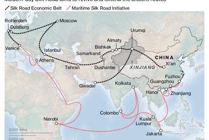 China Calls for U.S. and European Companies to Join Belt and Road