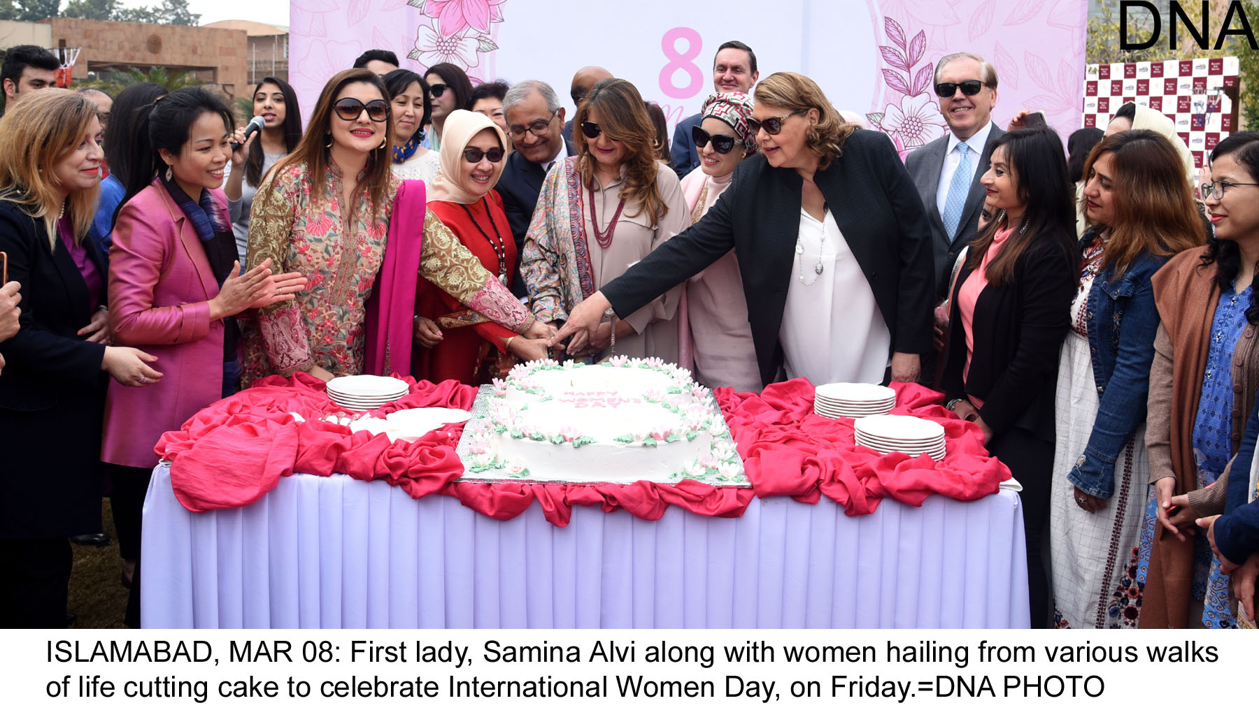 First lady attends women day function at Serena Hotel